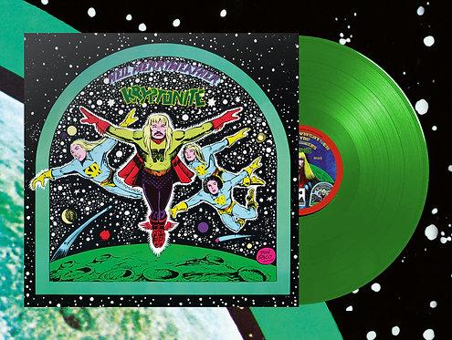 """Neil Merryweather & the Space Rangers - Kryptonite LP + 7""""EP (Green Vinyl)"""