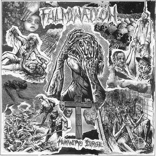 Fulmination - Humanity's Dirge 2xLP (White/Grey Marble Vinyl)