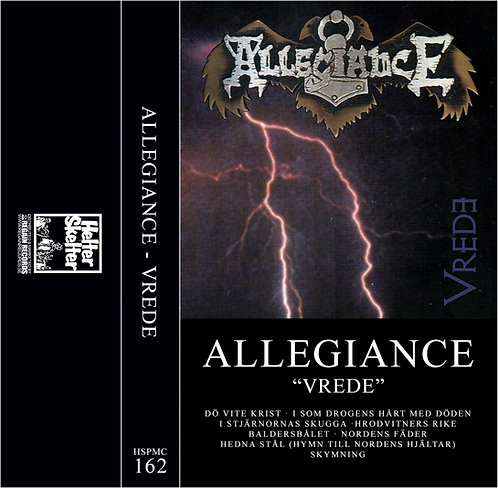 Allegiance - Vrede TAPE (Silver Tape)