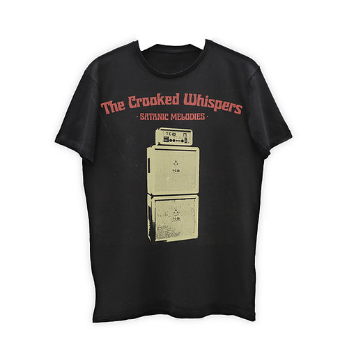 "The Crooked Whispers - ""Satanic Melodies"" SHIRT"