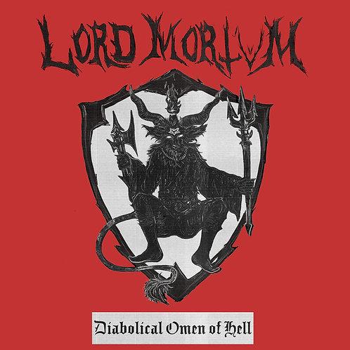 Lord Mortvm - Diabolical Omen of Hell LP/CD/TAPE BUNDLE (PRE-ORDER)
