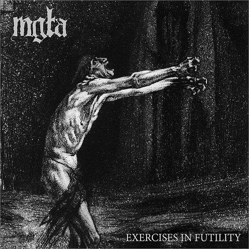 Mgla ‎– Exercises In Futility CD