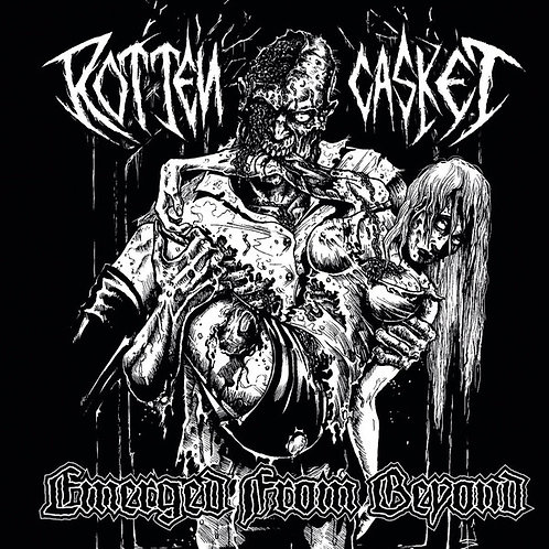 Rotten Casket - Emerged From Beyond CD