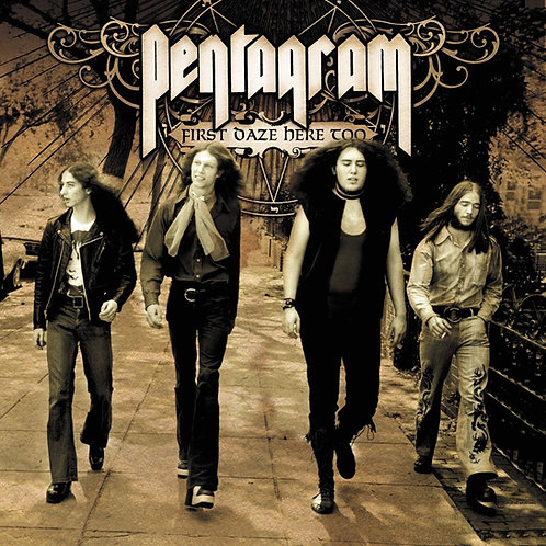 Pentagram - First Daze Here Too 2xCD