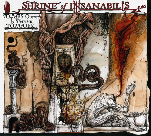 "Shrine Of Insanabilis ‎– Tombs Opened By Fervent Tongues 7""EP"