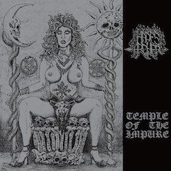 Hades Archer - Temple of the Impure LP (Silver Vinyl)