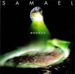 Samael ‎– Exodus LP (Clear Light Green Vinyl)