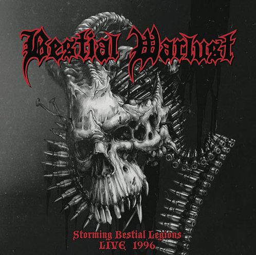 Bestial Warlust – Storming Bestial Legions Live 1996 CD