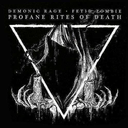 Demonic Rage / Fetid Zombie - Profane Rites Of Death CD