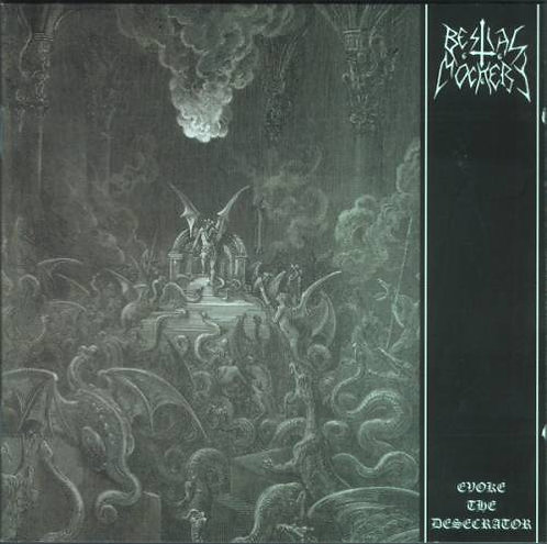 Bestial Mockery - Evoke the Desecrator CD