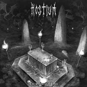 Hostium – The Bloodwine Of Satan LP