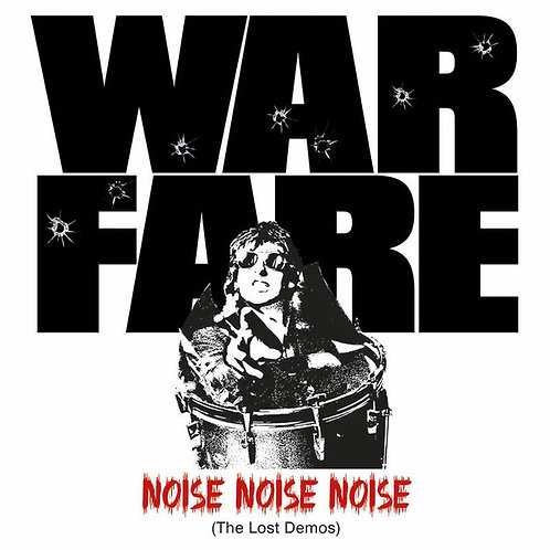 Warfare -Noise Noise Noise (The Lost Demos) LP (Clear Red Vinyl)