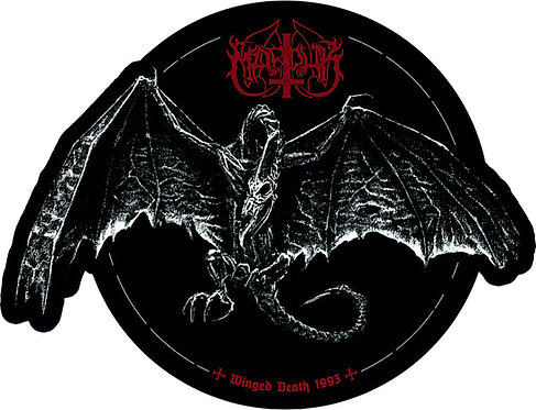 """Marduk - Winged Death 1993 SHAPE PICTURE 7""""EP"""