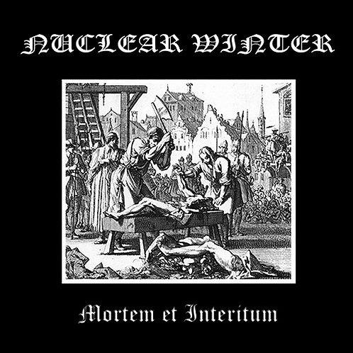Nuclear Winter – Mortem et Interitum CD