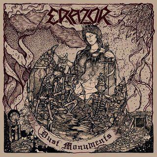 Erazor - Dust Monuments LP (Marbled Vinyl)