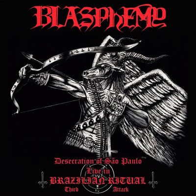 Blasphemy - Desecration Of São Paulo CD