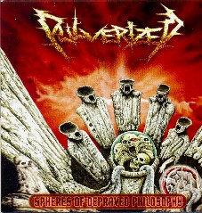 Pulverized – Spheres Of Depraved Philosophy CD