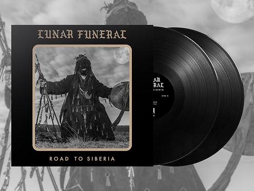Lunar Funeral - Road to Siberia 2xLP/CD/TAPE BUNDLE