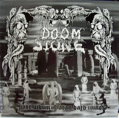 Doomstone  ‎– Those Whom Satan Hath Joined LP