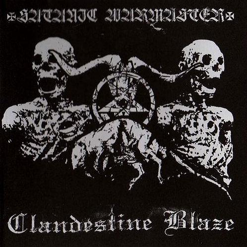 Clandestine Blaze / Satanic Warmaster - Split DIGI-CD