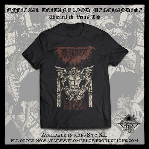 "Teitanblood - ""Unearthed Veins"" T-SHIRT"