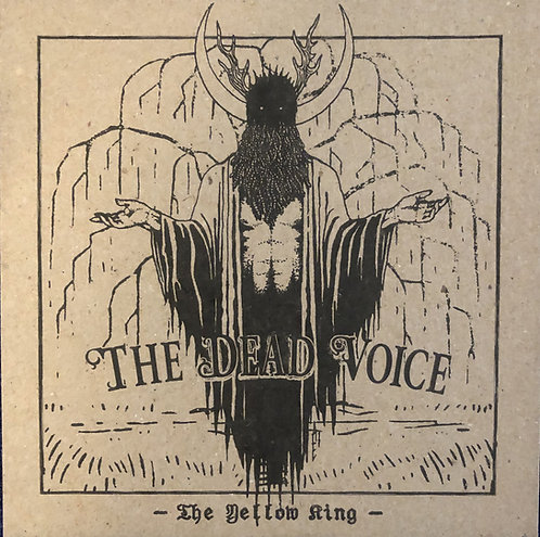 The Dead Voice - The Yellow King CD-r BOX