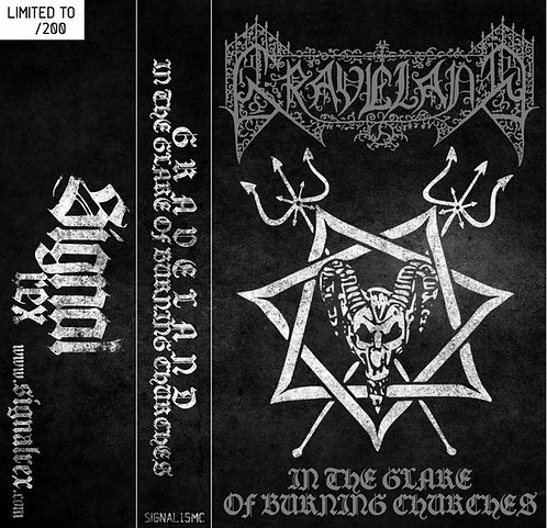 Graveland - In the Glare of Burning Churches TAPE