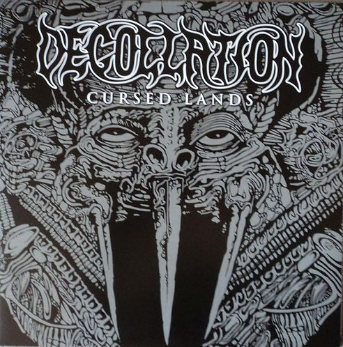 Decollation ‎– Cursed Lands LP