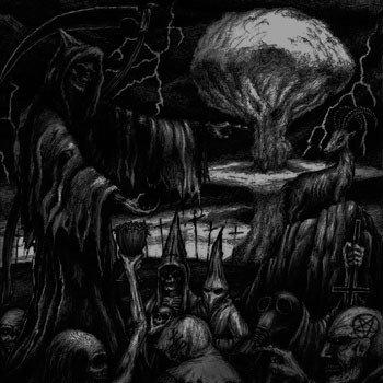 """Black Vul Destruktor / Et Verbi Sathanus - Apocalypse Towards Apocalypse 2x7""""EP"""
