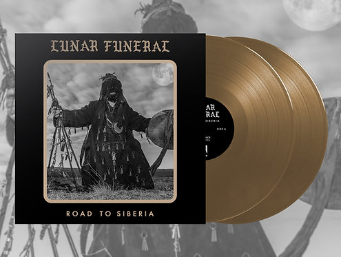 Lunar Funeral - Road to Siberia 2xLP (Gold Vinyl)