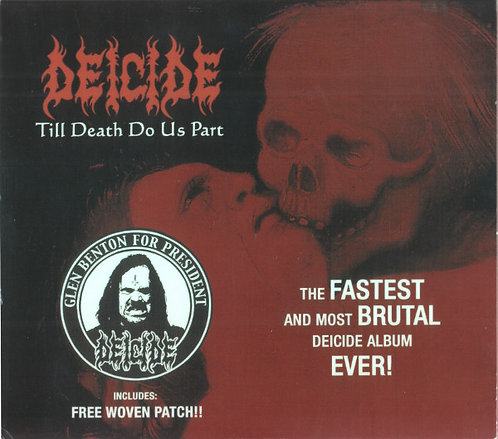 Deicide ‎– Till Death Do Us Part CD