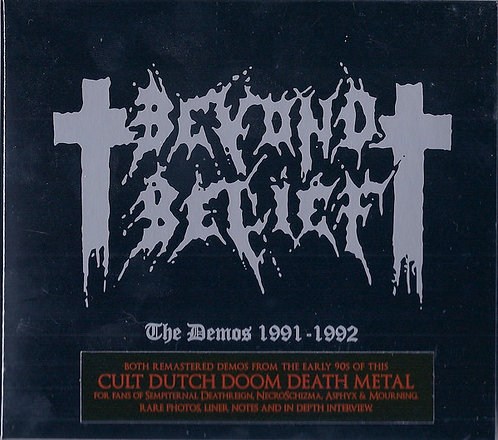 Beyond Belief ‎– The Demos 1991-1992 Digi-CD