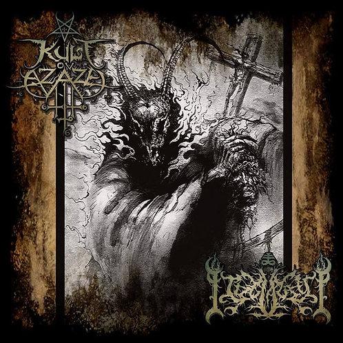 Kult Ov Azazel / Idolatry – Luciferian Vengeance CD