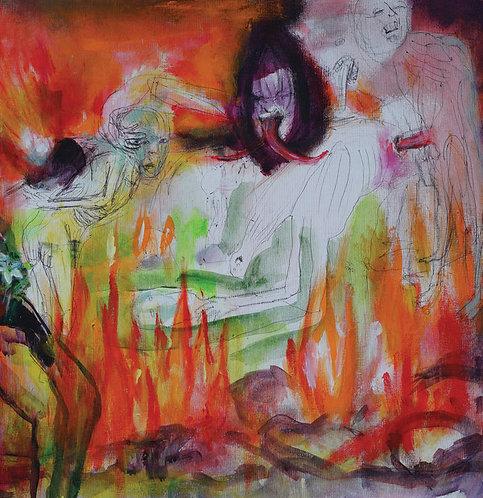 Fleshpress - Hulluuden Muuri LP