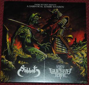 """Sabbat / Guerra Total - A Sabbatical Zombie Invasion 7""""EP"""