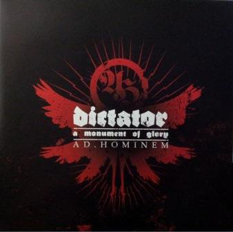 Ad Hominem - Dictator: A Monument of Glory LP (Red Marble Vinyl)