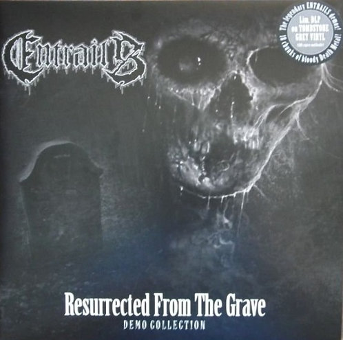Entrails - Resurrected from the Grave 2xLP (Tombstone Grey Vinyl)