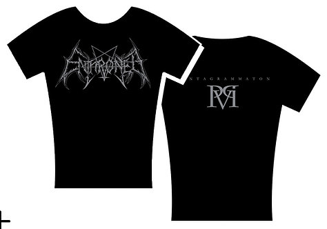 Enthroned - Pentagrammaton Lady Fit SHIRT