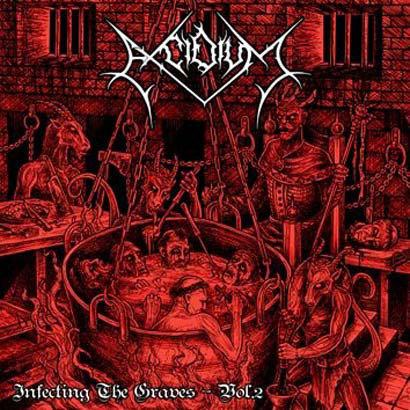 Excidium – Infecting The Graves - Vol. 2 CD