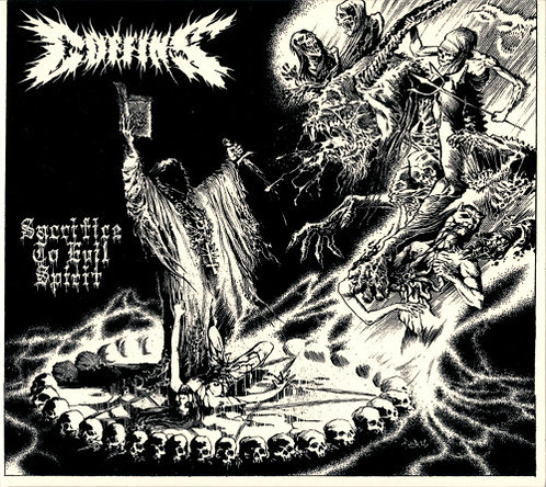 Coffins - Sacrifice to Evil Spirit DIGI-CD