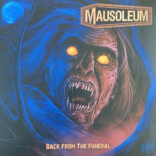 Mausoleum - Back From The Funeral LP (Brown Vinyl)
