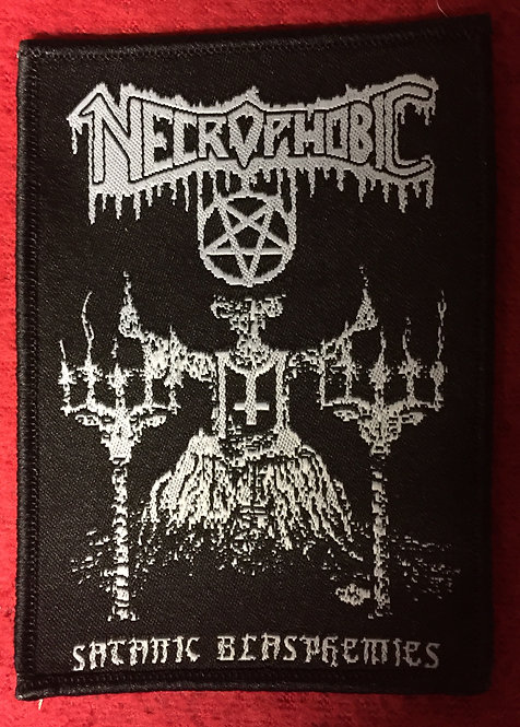 Necrophobic - Satanic Blasphemies Patch