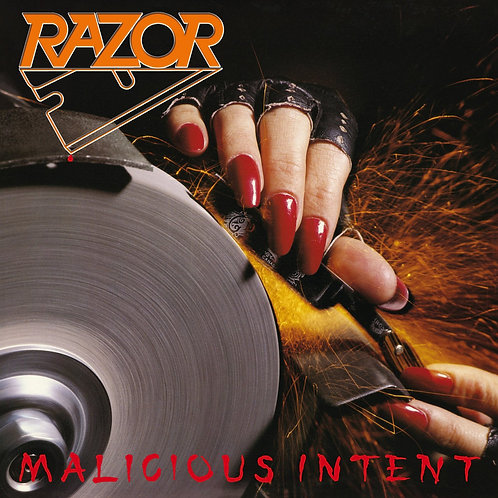 Razor - Malicious Intent LP (Red Vinyl)