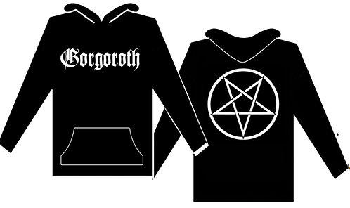 Gorgoroth - Pentagram Size S HOODED SHIRT
