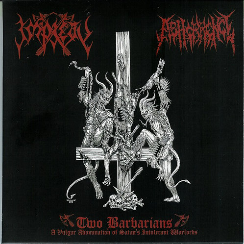 Impiety / Abhorrence - Two Barbarians CD