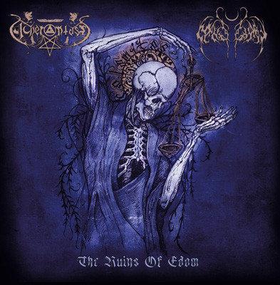Nightbringer / Acherontas - The Ruins Of Edom DIGI-CD