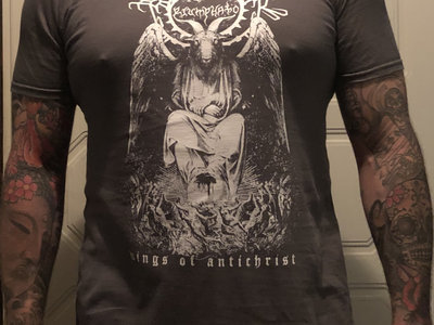 Triumphator - Wings of Antichrist SHIRT (Charcoal)