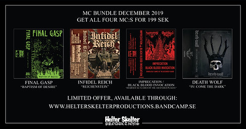 Helter Skelter Cassette Bundle