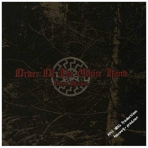 Order of the White Hand - Veren Muisto CD