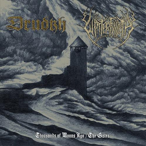 Drudkh / Winterfylleth - Thousands of Moons Ago / The Gates MLP (Splatter Vinyl)